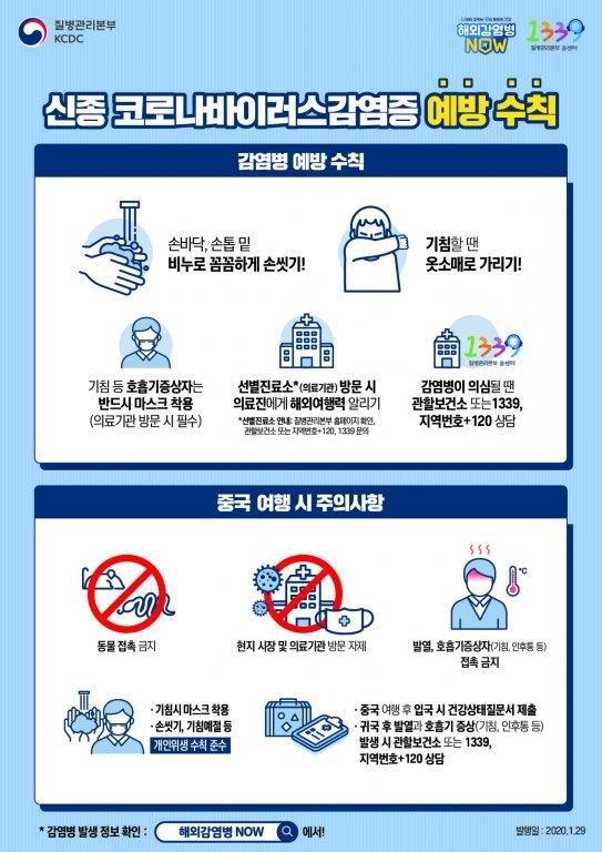 경기도교육청 학생건강과_신종 코로나바이러스감염증 예방수칙(일반용)